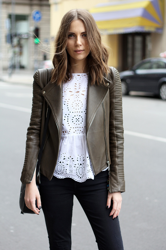 Fashion and style: White top