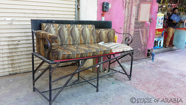 Jeddah daily photo our world saudi style seating for Outdoor furniture jeddah