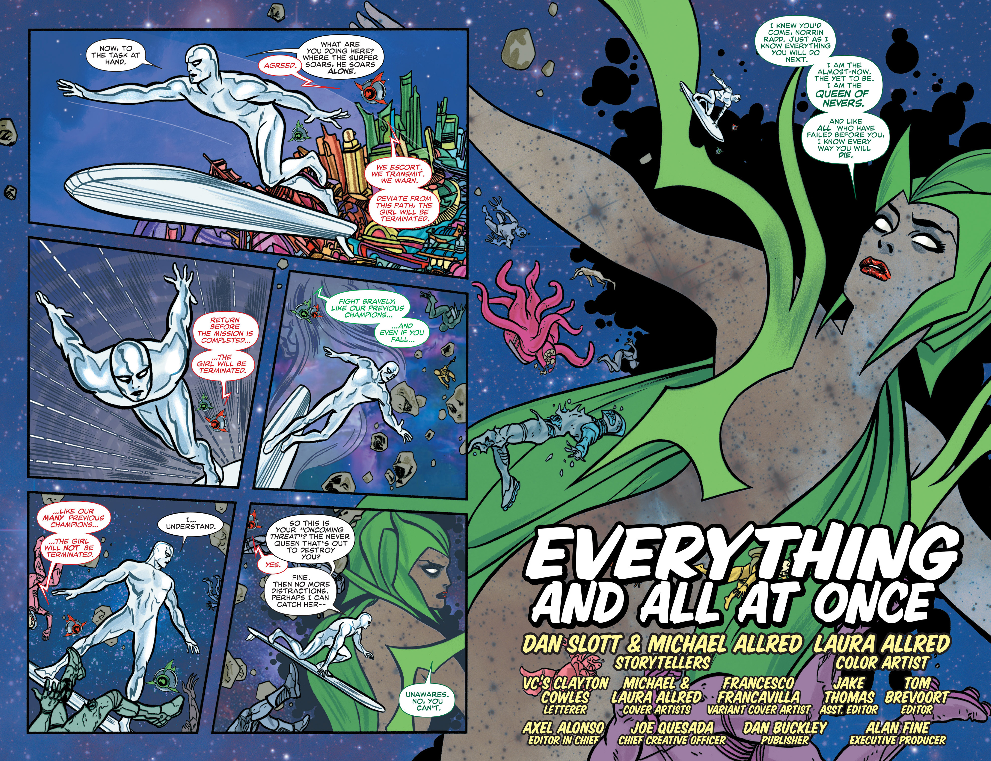 Read online Silver Surfer (2014) comic -  Issue #2 - 5
