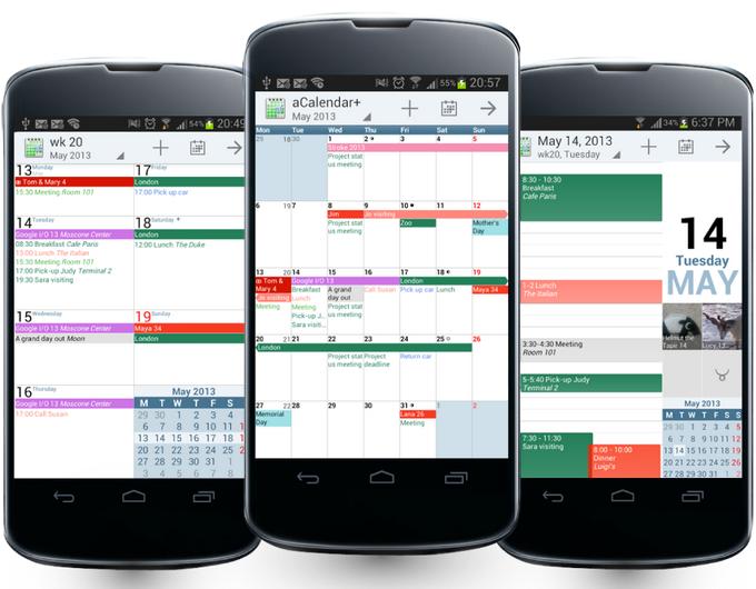 aCalendar APK / APP 下載 (Android Calendar)