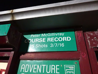 Blackpool Pleasure Beach Adventure Golf course record