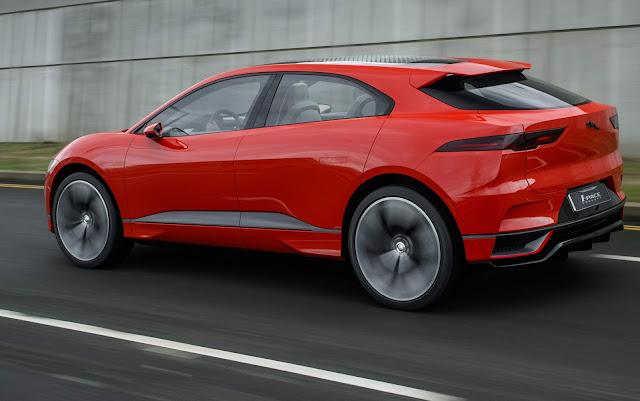 Jaguar i-Pace Elétrico: lançamento no final de 2017