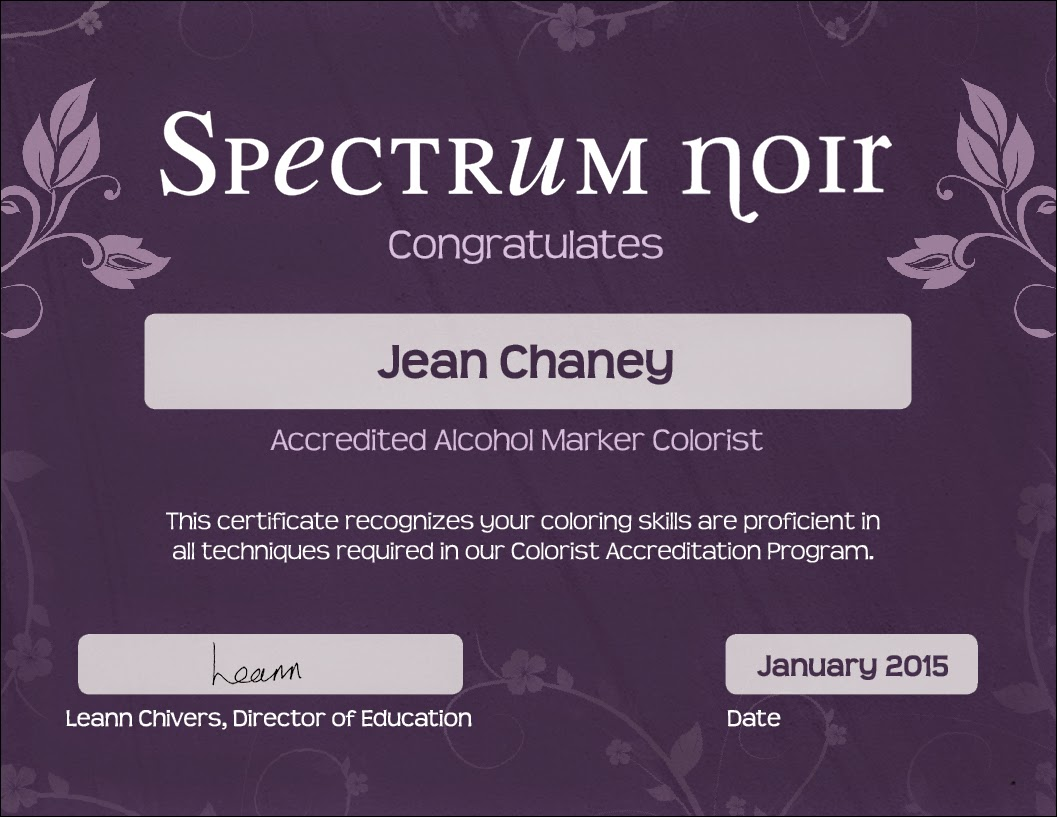 Spectrum Noir Accredited Colorist
