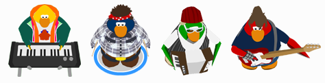 Trackers de Club Penguin