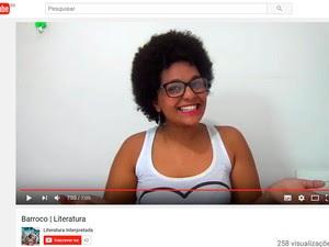 um - Estudante cria canal de vídeos sobre literatura para ajudar colegas no Enem