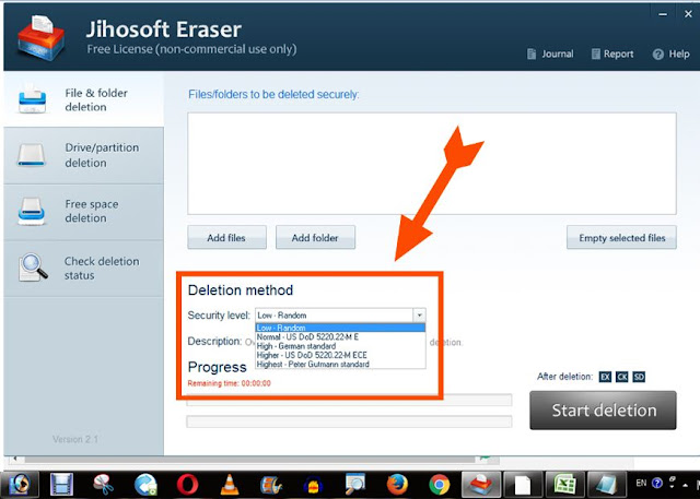hard disk wipe-jihosoft eraser- tool-how to remove history-jihosoft eraser