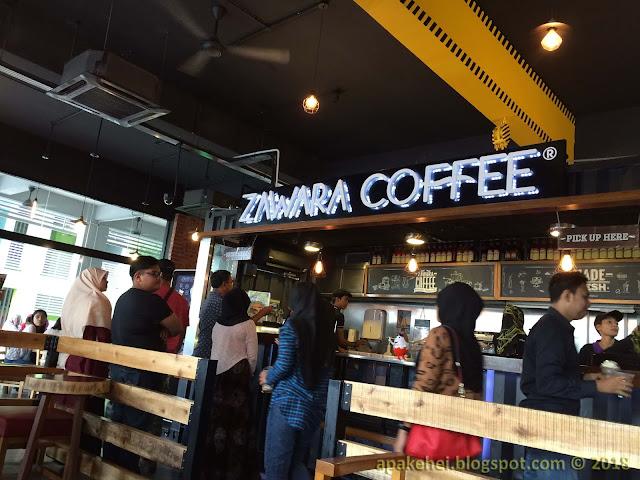 Zawara Coffee, Bukit Jelutong