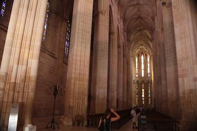 Church of Batalha Monastery in Portugal