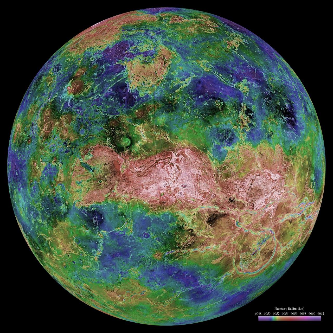 Benarkah Ada Kehidupan di Planet Venus