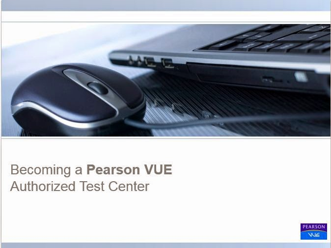 a Person VUE Authorized Test Center.