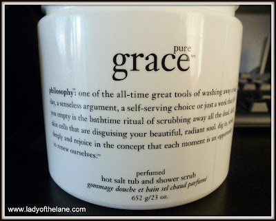 Philosophy Grace Hot Salt Tub & Shower Scrub