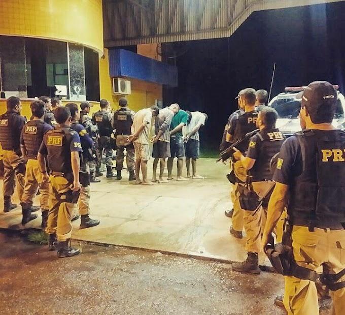 Força tarefa prende mais quatro acusados de invasão à UOP PRF de Açailândia-MA