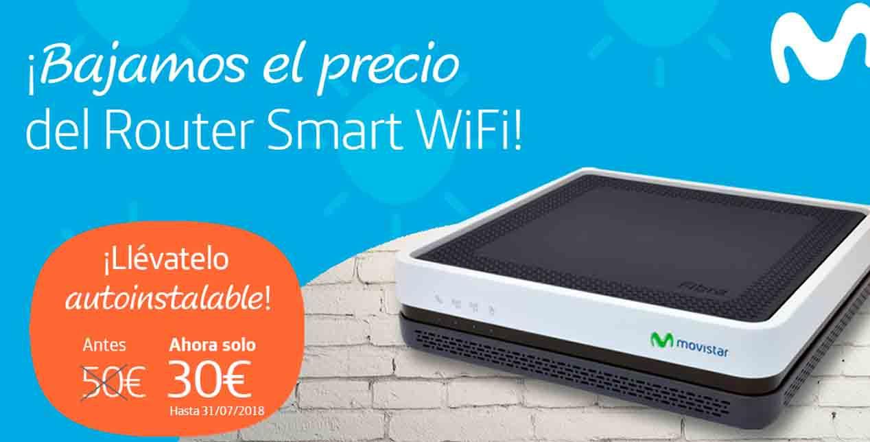 Movistar Smart Router 30 euros