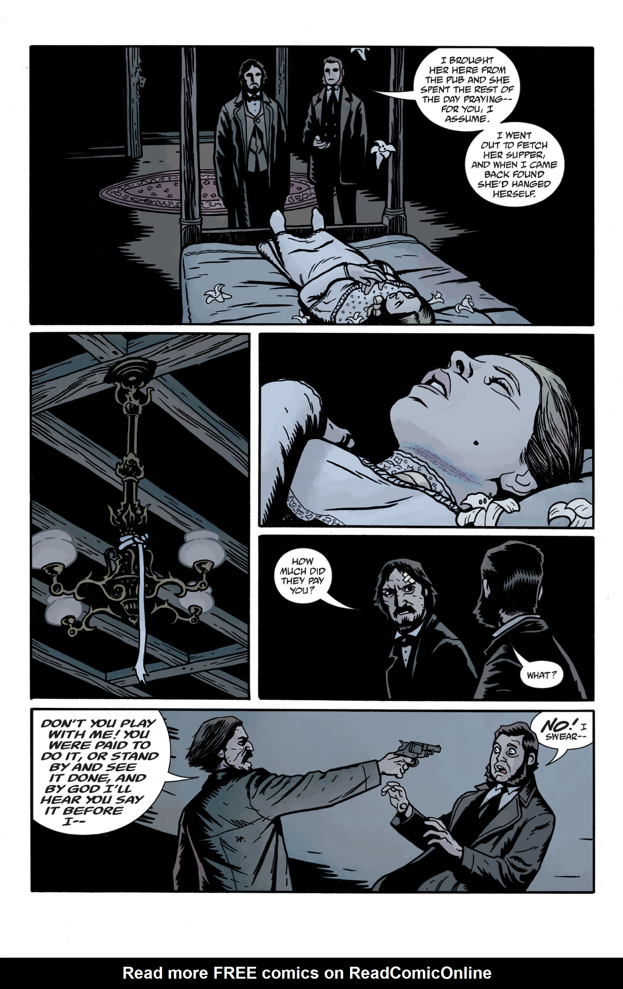 Read online Sir Edward Grey, Witchfinder: In the Service of Angels comic -  Issue # TPB - 122