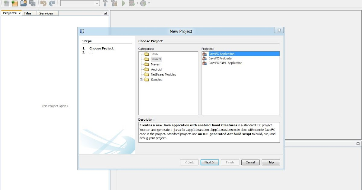 HOW TO] Start Programming With JavaFX In NetBeans [WINDOWS] - Refresh It