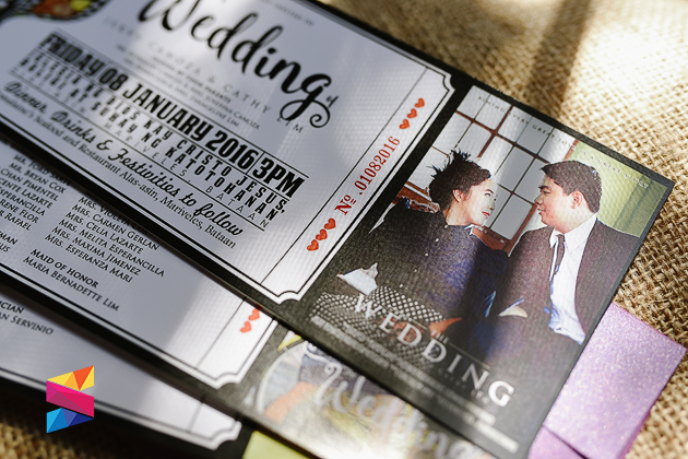 movie ticket wedding invitations | wedding design ideas,
