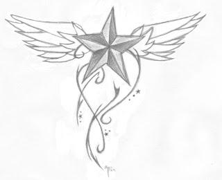 celebrity Gossip: Nautical Star Tattoos Designs