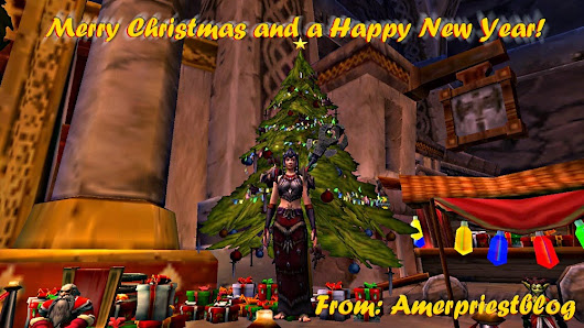 Happy Holidays Everyone! ~ Amerence Love WoW