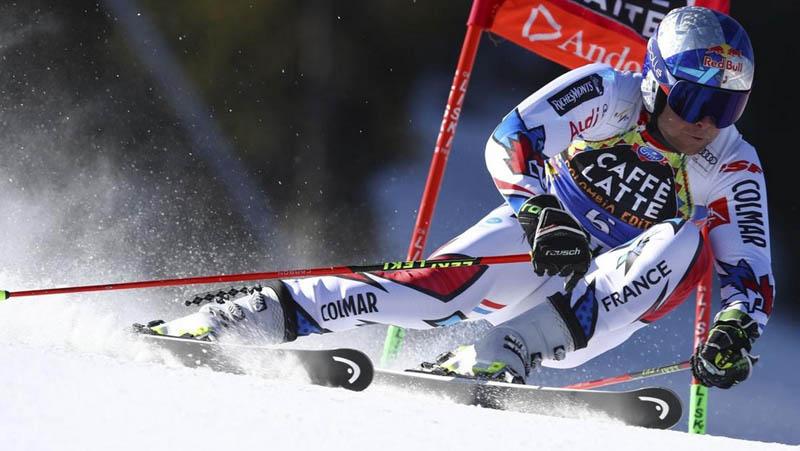 Alexis Pinturault obrovský slalom  - Andorra