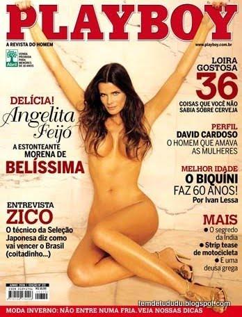 Angelita Feijó nua na Playboy 2006
