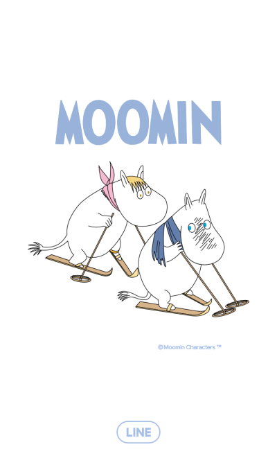 Moomin - Winter theme-