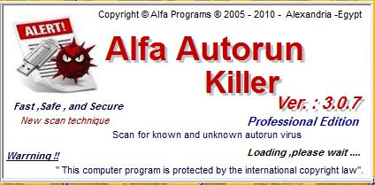3.0.7 Alfa Autorun Killer