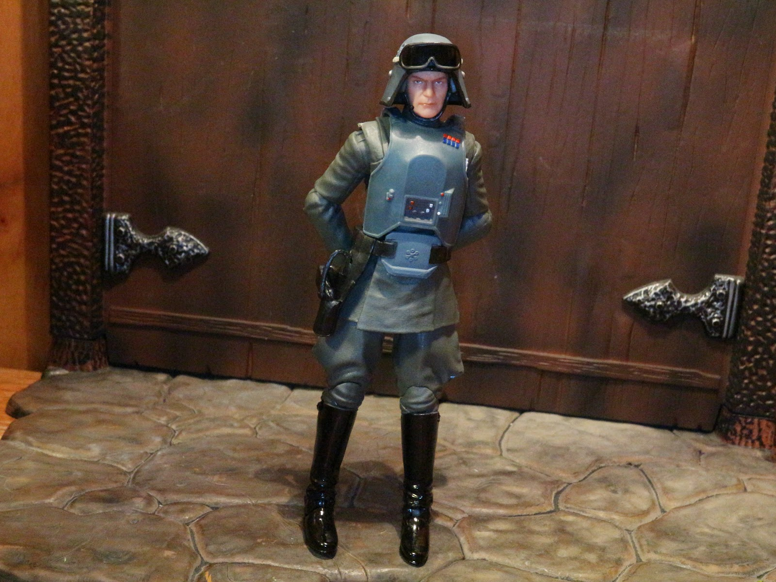 Action Figure Barbecue Action Figure Review General Veers From Star Wars The Black Series Phase Iii By Hasbro