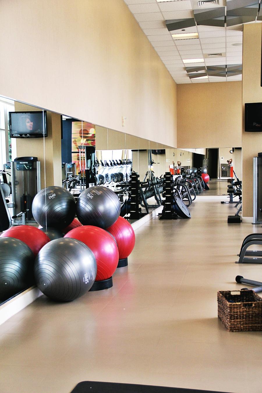hotel fitness studio