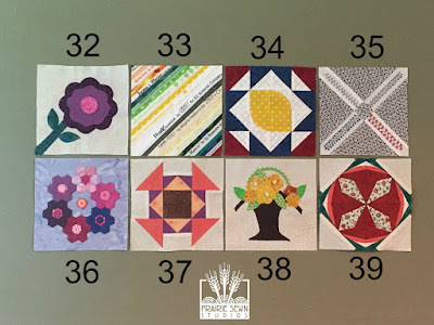The Splendid Sampler Blocks 32-39