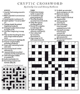 want ad letters crossword national post cryptic crossword forum saturday january 53530