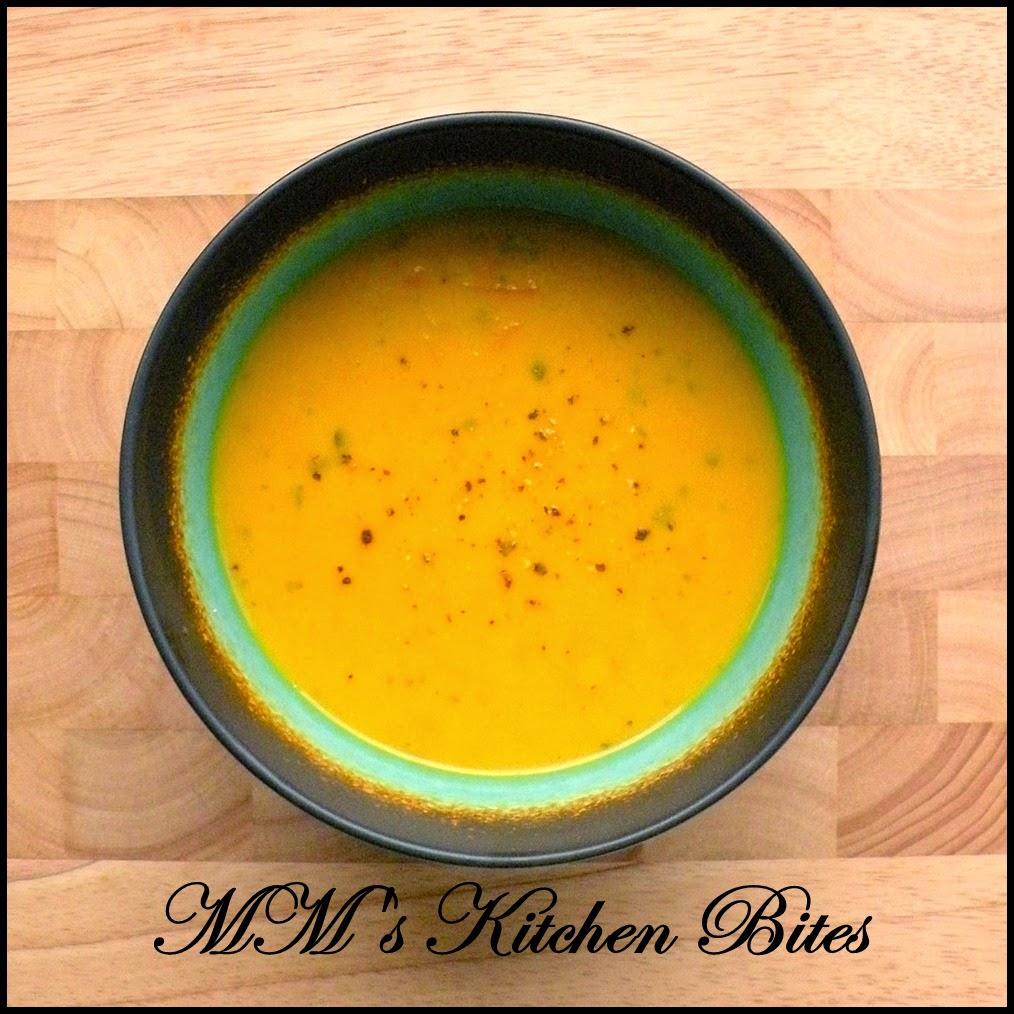 Carrot and Coriander Soup mmskitchenbites