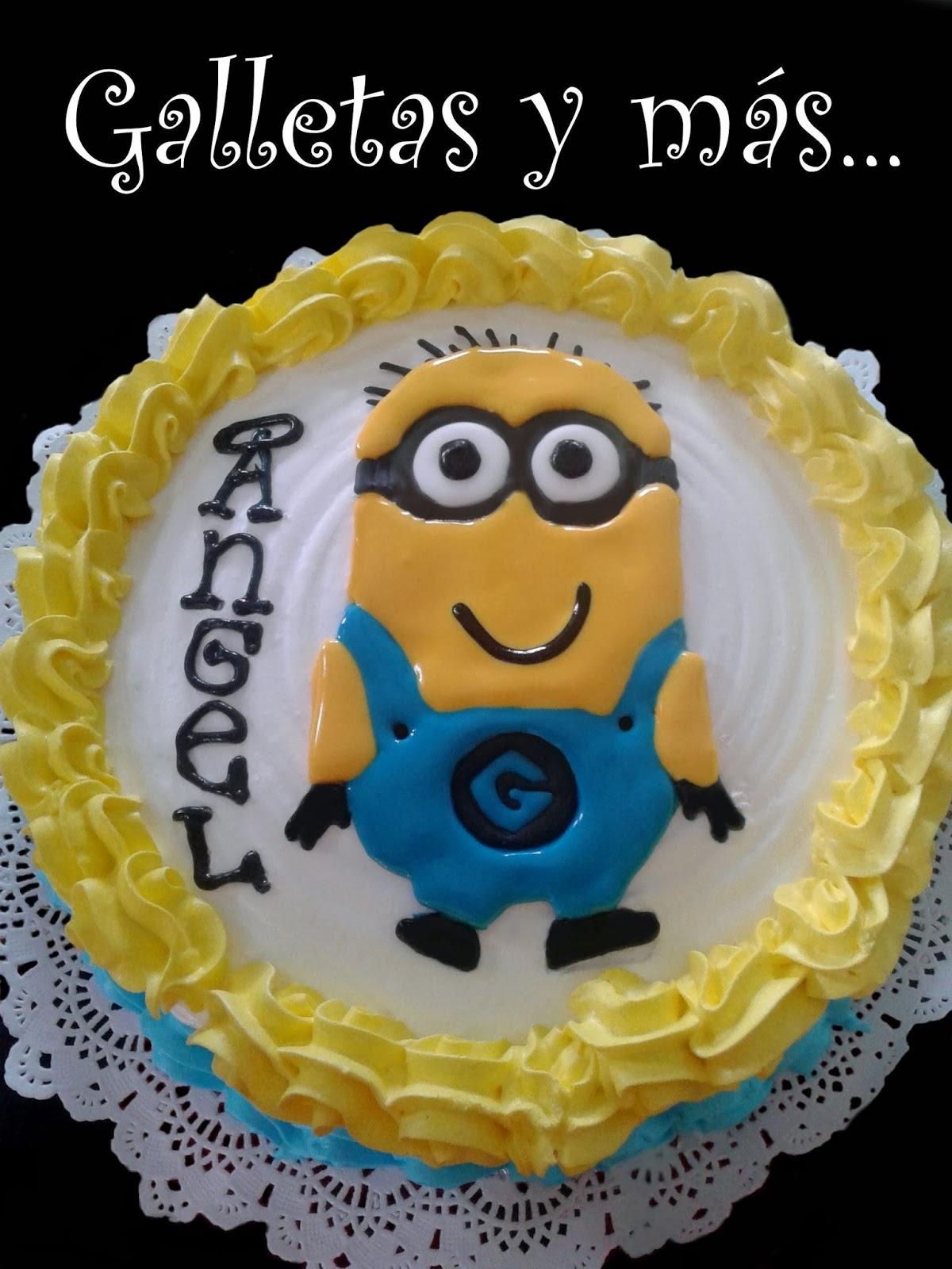 Galletas Y M 225 S Galletas De Minions Pastel Y Cup Cake