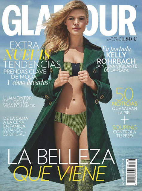 Actress, Model, @ Kelly Rohrbach by James Macari for Glamour Spain August 2016