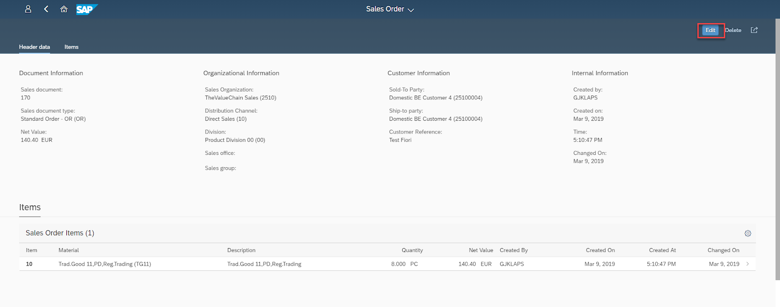SAP ABAP Central: Creating a draft enabled Sales Order Fiori App
