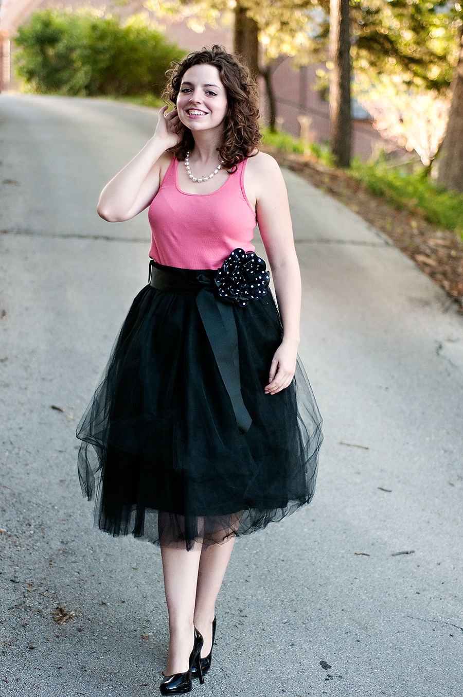 551cb18223 What I Wore  Shabby Apple Tulle Skirt - The Adored Life
