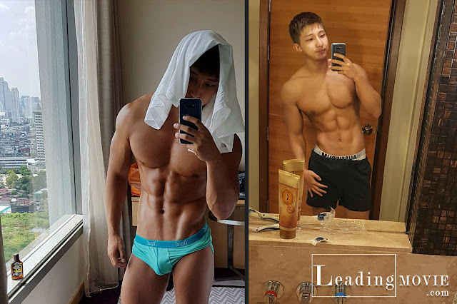 Korean Fitness Model Leaked Jerking Videos On Blued App