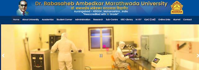 """""""Dr. Babasaheb Ambedkar Marathwada University Aurangabad-431004 (Maharashtra State)"""""""