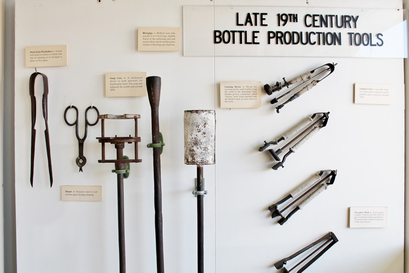 The National Bottle Museum in Ballston Spa (NY)