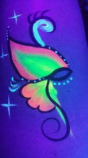 Glow Paint Design