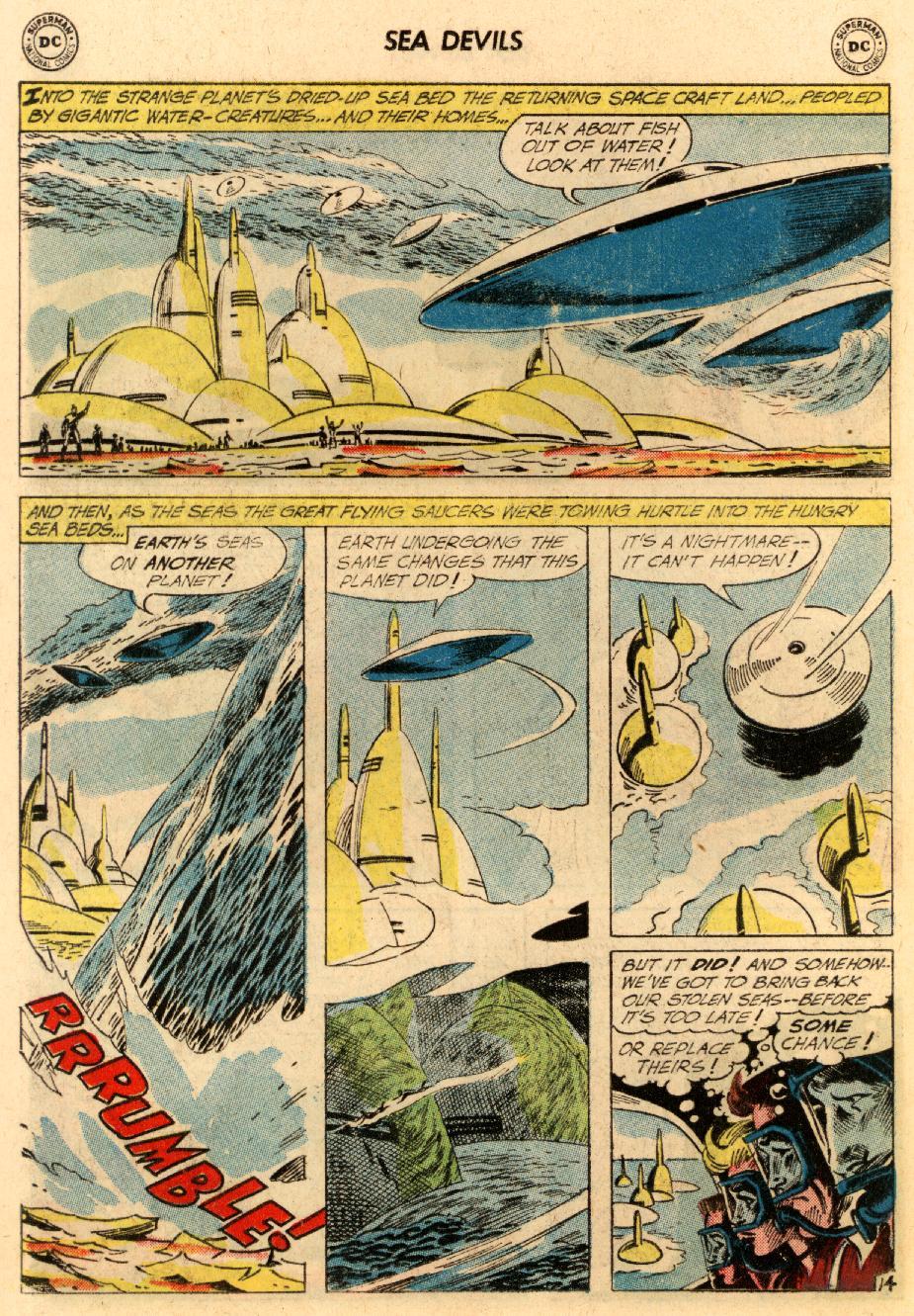 Read online Sea Devils comic -  Issue #5 - 21