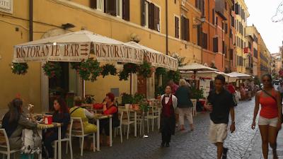 Quaint Streets  Restaurants  Rome Italy