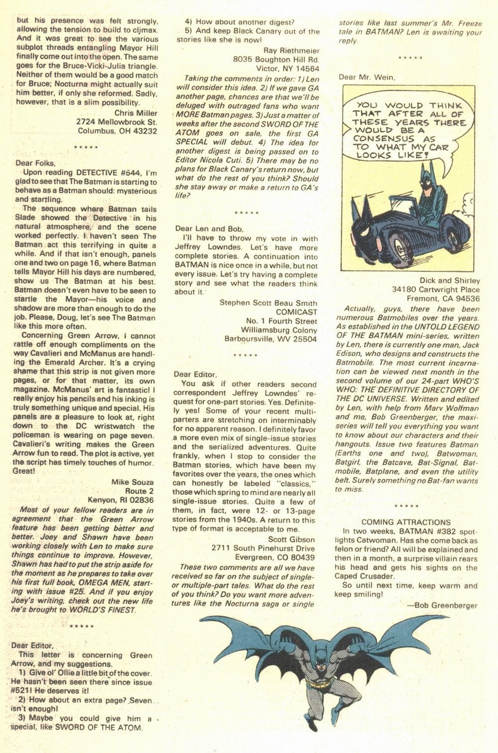 Detective Comics (1937) 548 Page 26