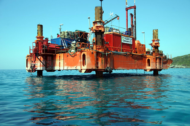 """Φυσικό αέριο Μεσογείου: Όταν """"μιλούν"""" τα γεωτρύπανα"""