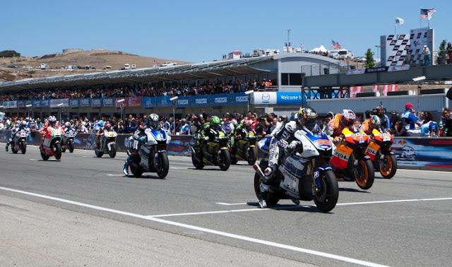 Ini Jarak Start Antar Pembalap di MotoGP