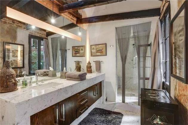 a casa incrivel de Lenny Kravitz 06 - As aparências enganam. Esta casa impressiona pelo seu interior.