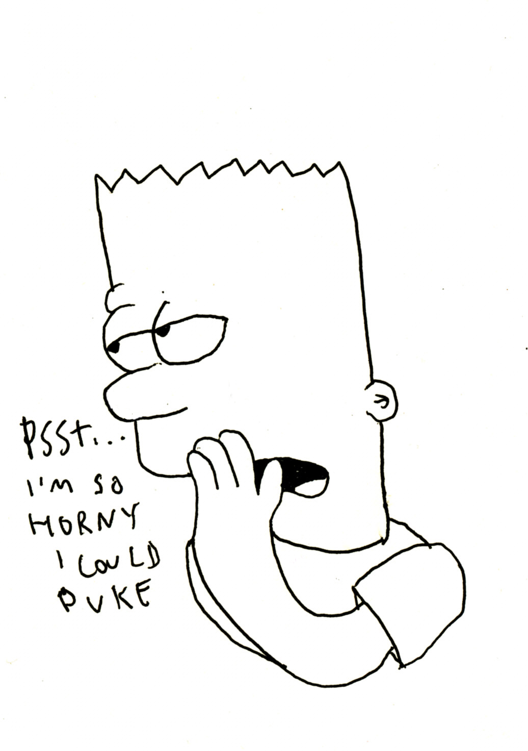 bart simpson tells it like it is