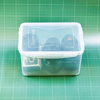 Combo hộp chống ẩm máy ảnh 4L
