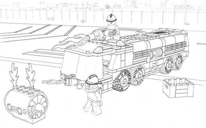 lego city ausmalbilder kostenlos - lego city zum ausmalen