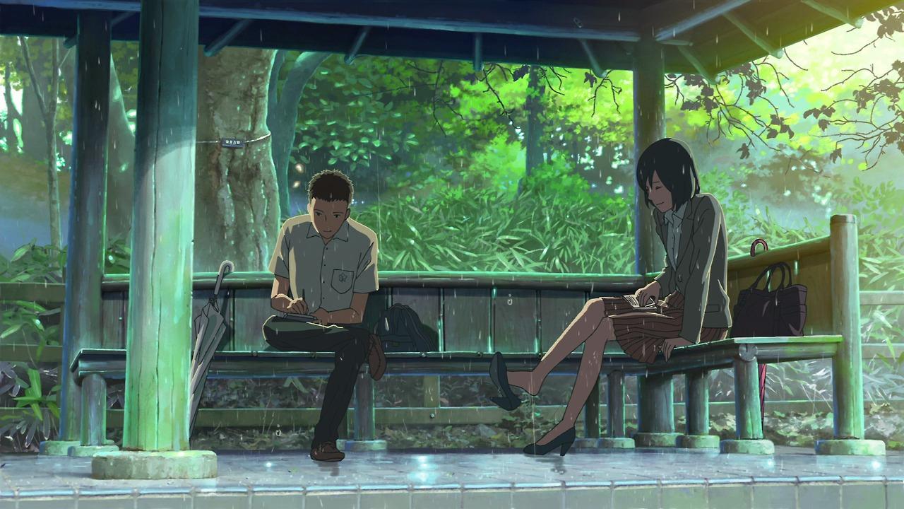 Il Giardino Delle Parole L 39 Anime E Il Manga