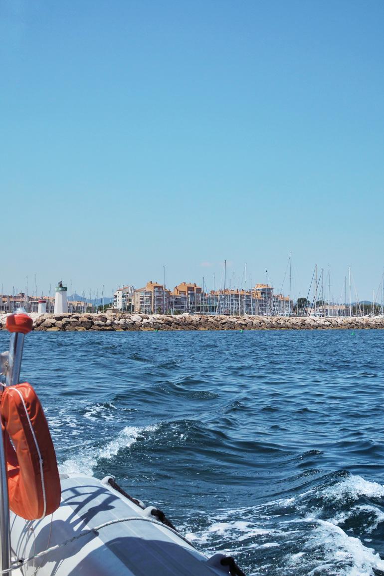 Promenade en mer près de Hyères